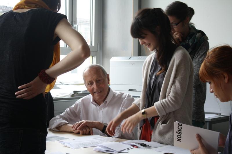 Jost Hochuli, Workshop 2013