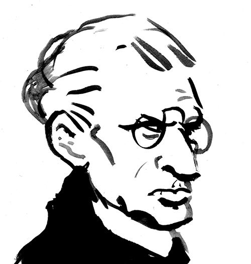 Rudolf von Larisch –sieht auf Fotos meist wie der Böse aus einem Tim und Struppi Comic aus.